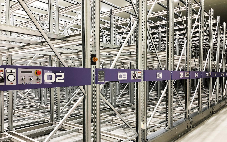 最新鋭の冷凍倉庫